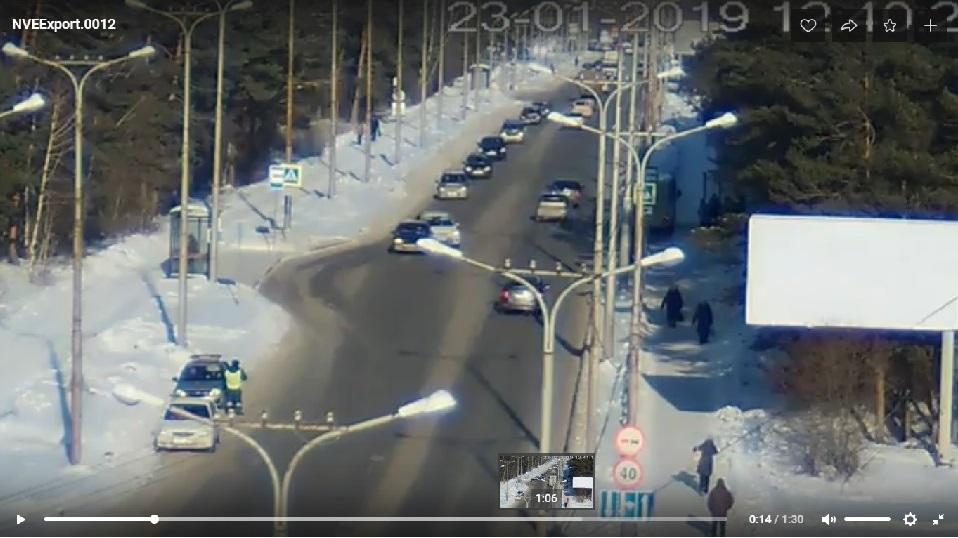 пешеходный переход по Рябова