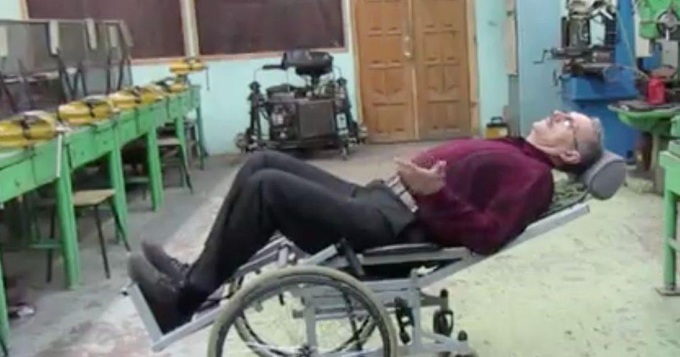 Коляска-трансформер: Уральский изобретатель создал уникальную инвалидную коляску