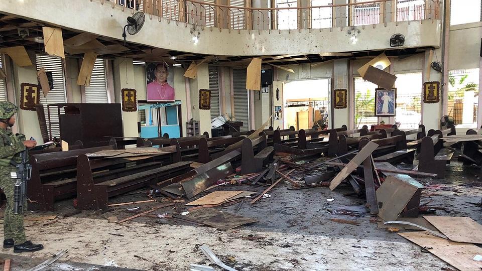 Взрывы на Филиппинах