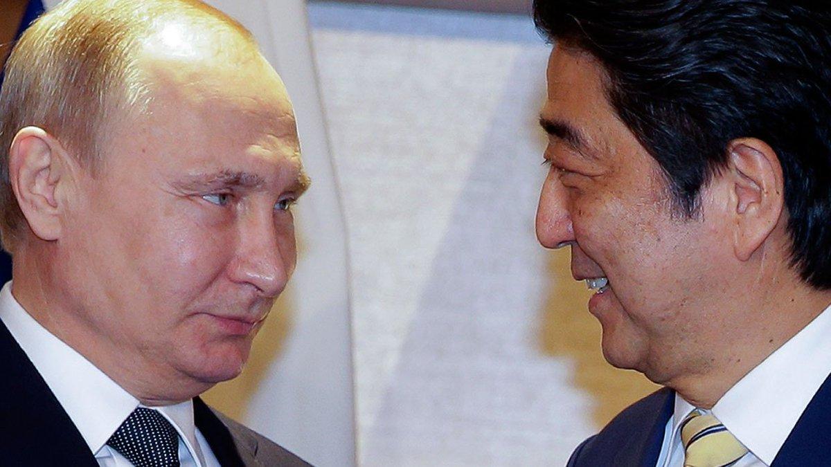 На переговорах по Курилам Путин и Абэ ограничились общими фразами