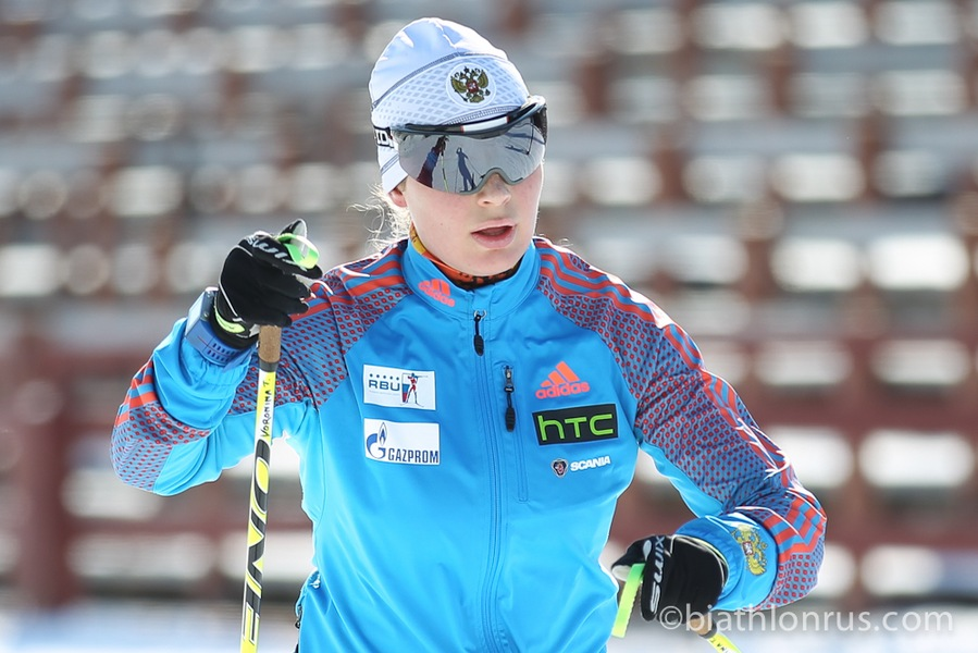 Каменская биатлонистка Тамара Воронина