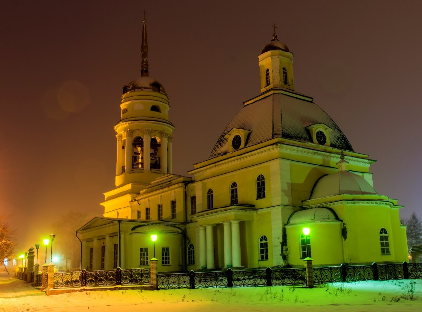 Свято-Троицкий собор Каменск-Уральский