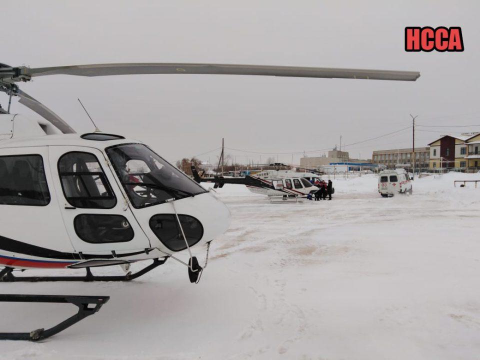 За выходные из Каменска-Уральского вертолеты санавиации транспортировали в Екатеринбург четверых человек, пострадавших в ДТП