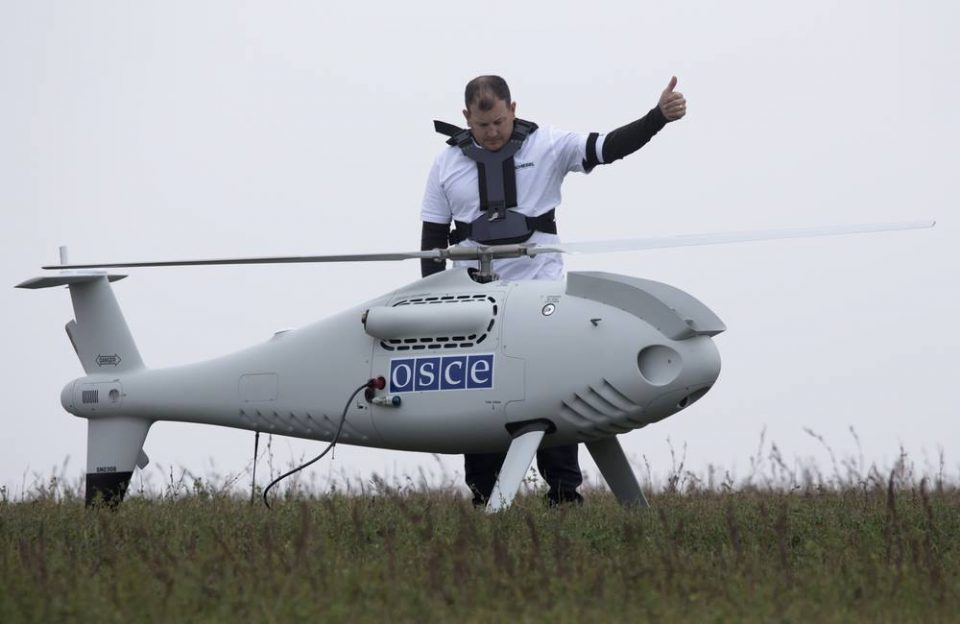 ДНР вернула ОБСЕ потерянный беспилотник