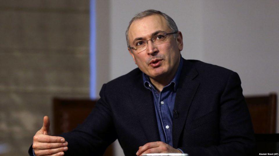 Михаил Ходорковский подал