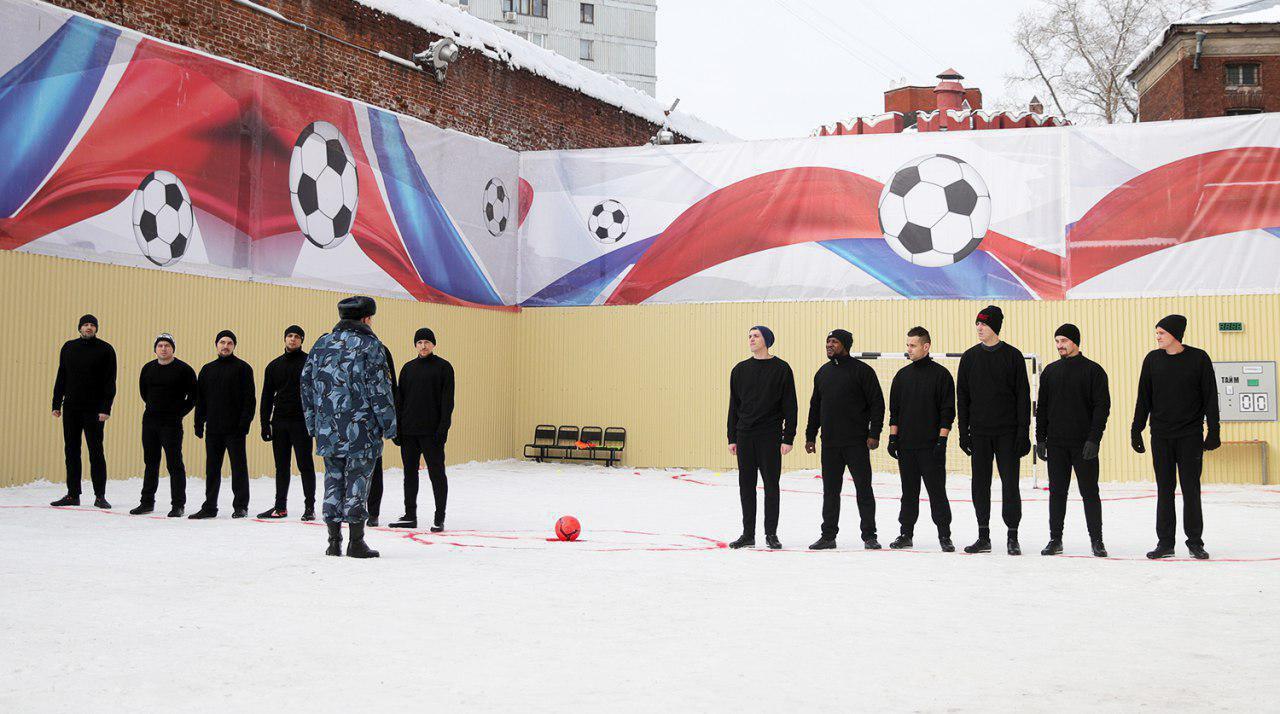 Павел Мамаев сыграл в футбол в Бутырке
