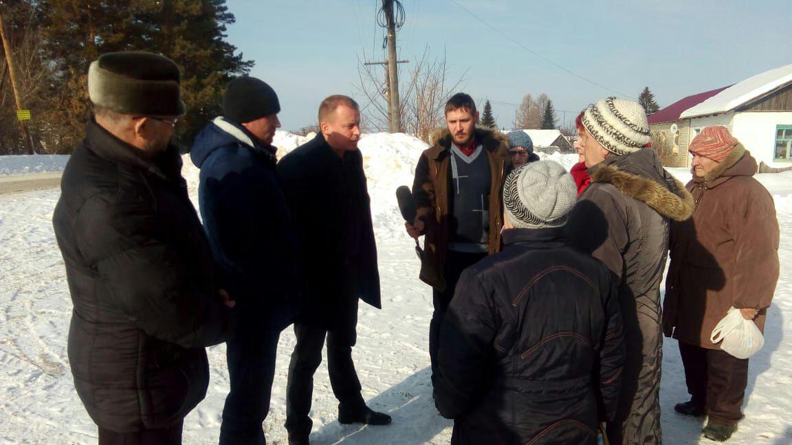 Глава КГО Белоусов встретился с жителями села Сосновское