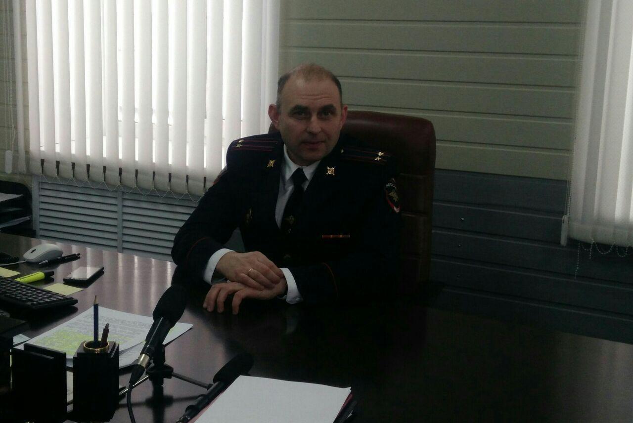 Александр Кивелев, начальник МО МВД Каменска-Уральского