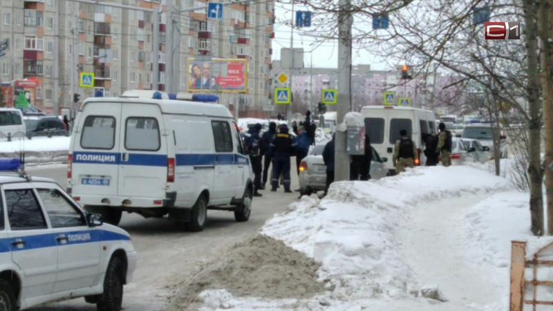 В центре Сургута силовики задержали мужчину