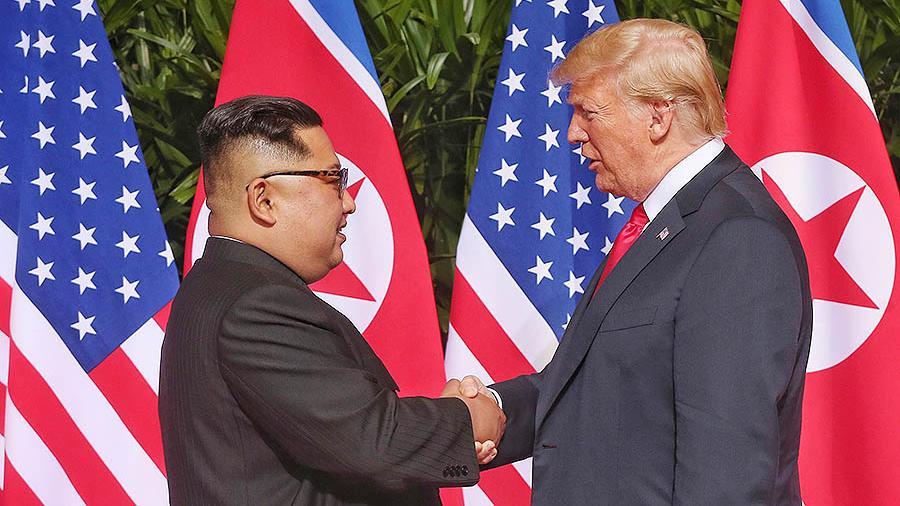 Дональд Трамп и Ким Чен Ын встретятся в Ханое