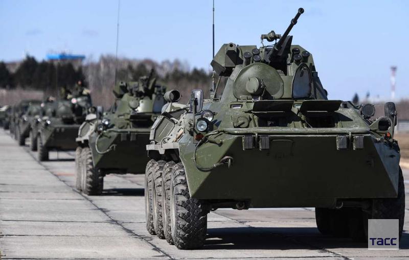открытие ещё одной военной базы РФ