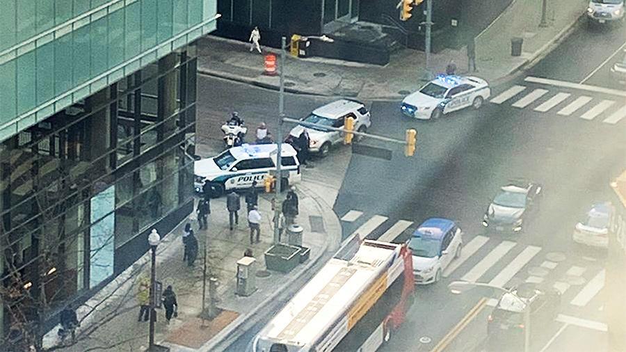 Взрыв в Вашингтоне