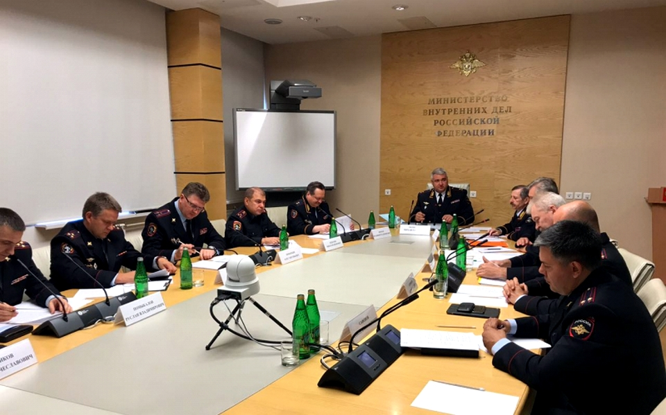 Начальник ГИБДД МВД России отчитал руководителя ГИБДД Волгоградской области