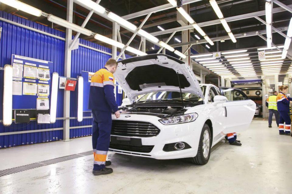 Заводы Ford в России