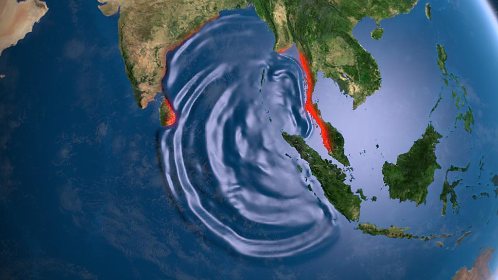 Землетрясения в Индийском океане