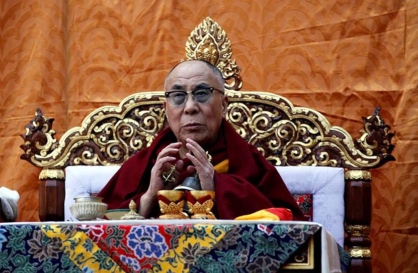 Далай-лама госпитализирован