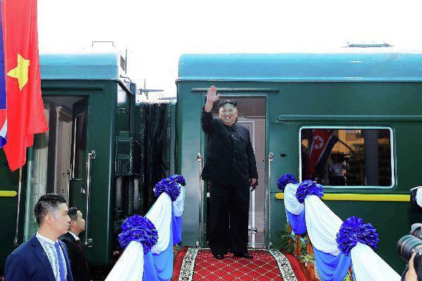 Ким Чен Ын приехал в Россию