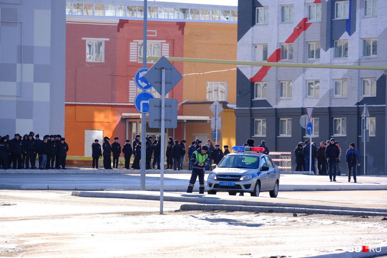 Пермь встречает Дмитрия Медведева
