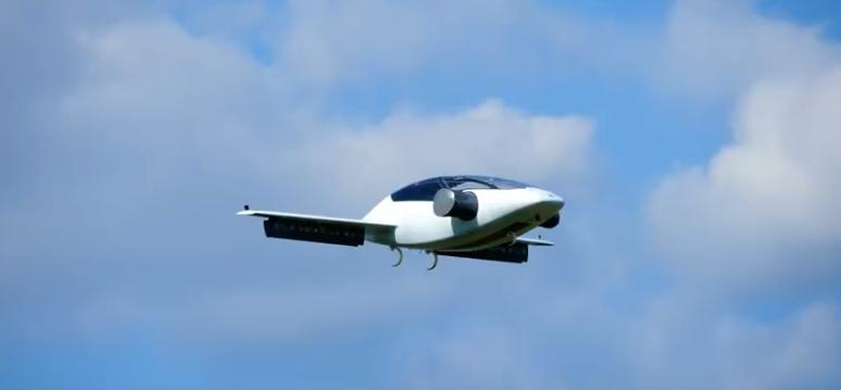 летающее беспилотное такси
