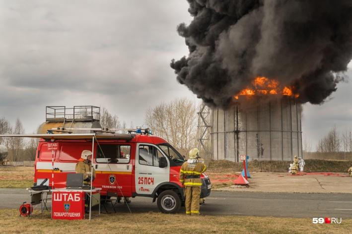 пожарной охраны