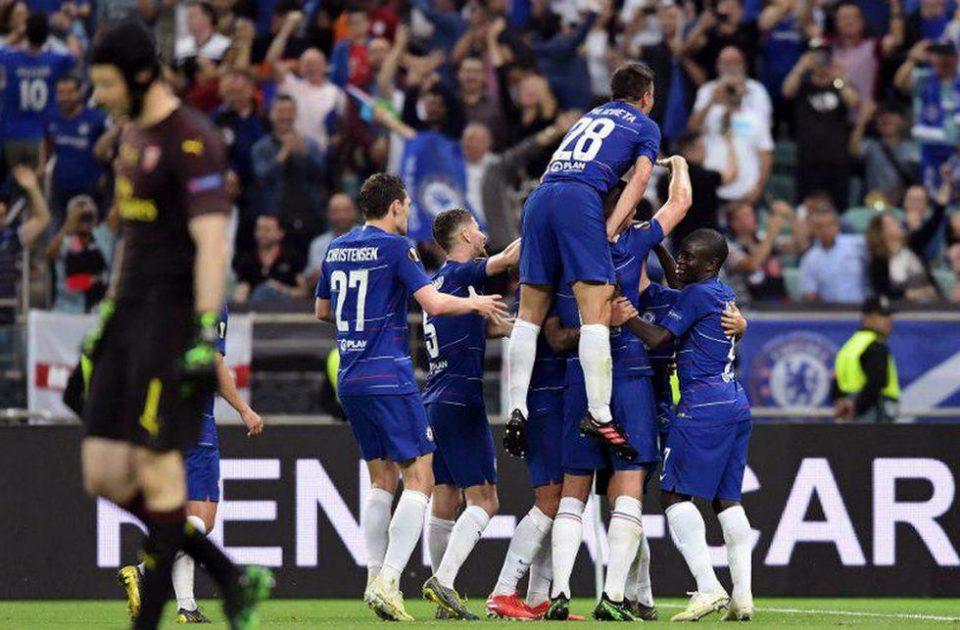 Лондонский Челси стал победителем Лиги Европы УЕФА