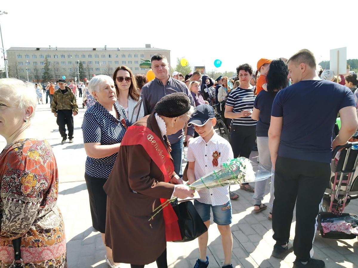 Бессмертный полк в Каменске-Уральском