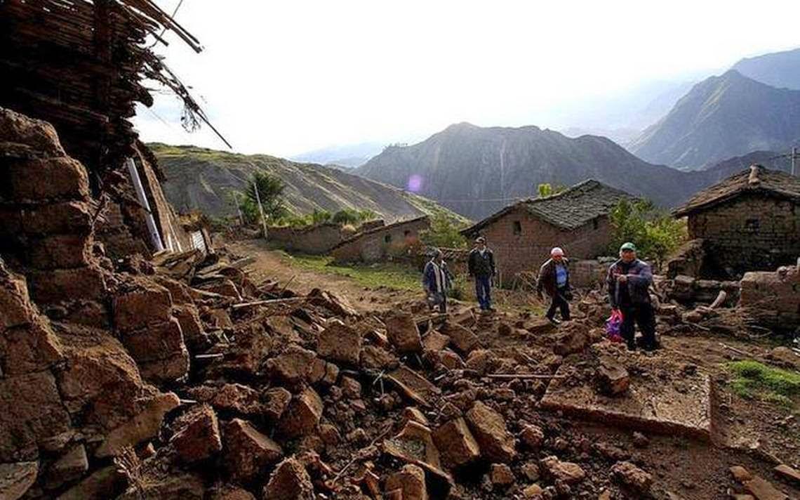 Мощное землетрясение в 8 баллов произошло в Перу