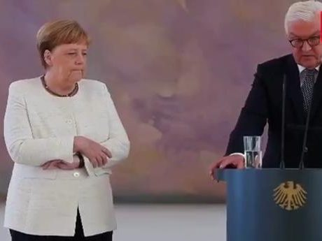Меркель опять затрясло