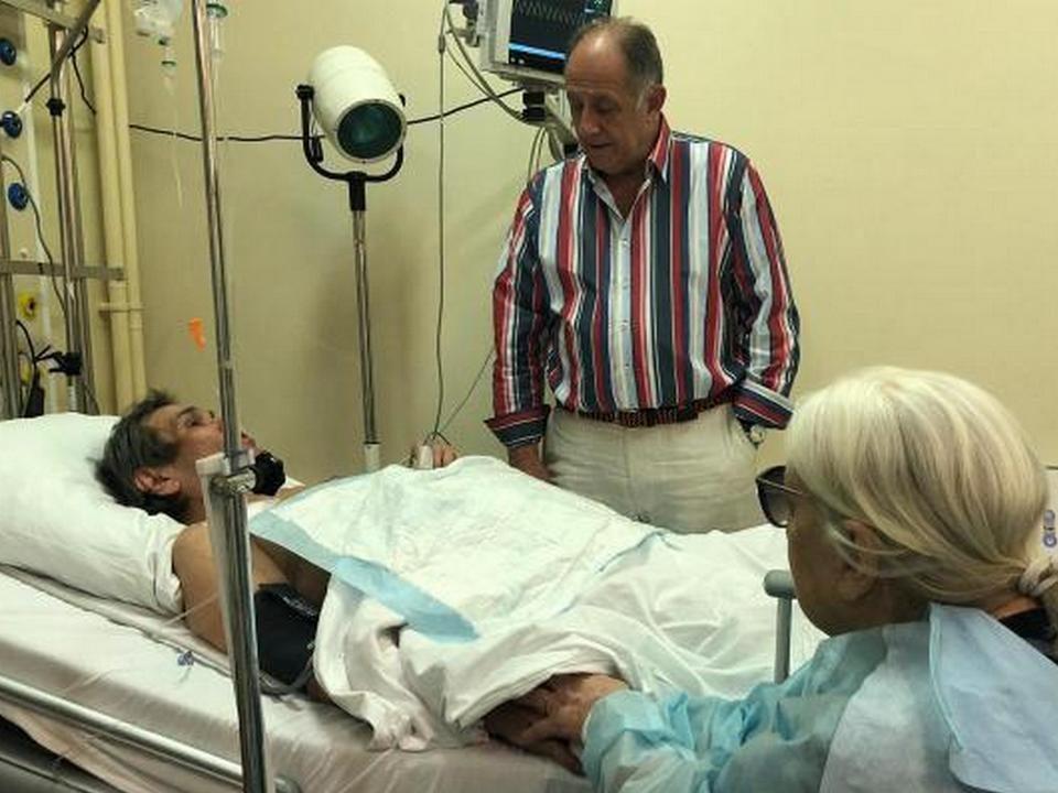 Алибасов находится в тяжелом состоянии, отравившись жидкостью для прочистки труб