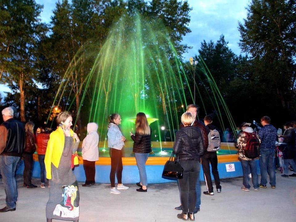 Фонтан в парке трубников официально открыт