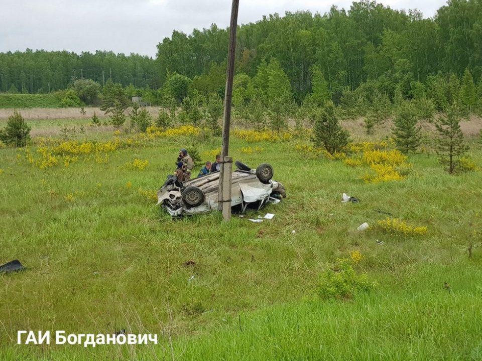 Смертельное ДТП на трассе Богданович – Сухой Лог: три человека погибли и два пострадали