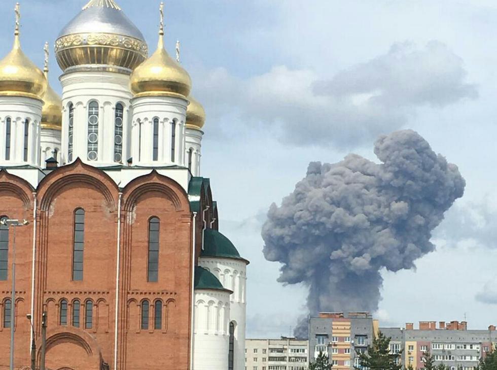 В Дзержинске взрыв в цехе по производству тротила на заводе ГосНИИ Кристалл