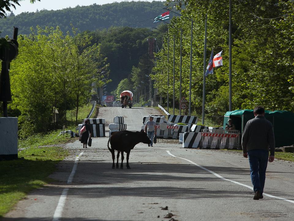 Служба госбезопасности Абхазии закрыла границы с Грузией