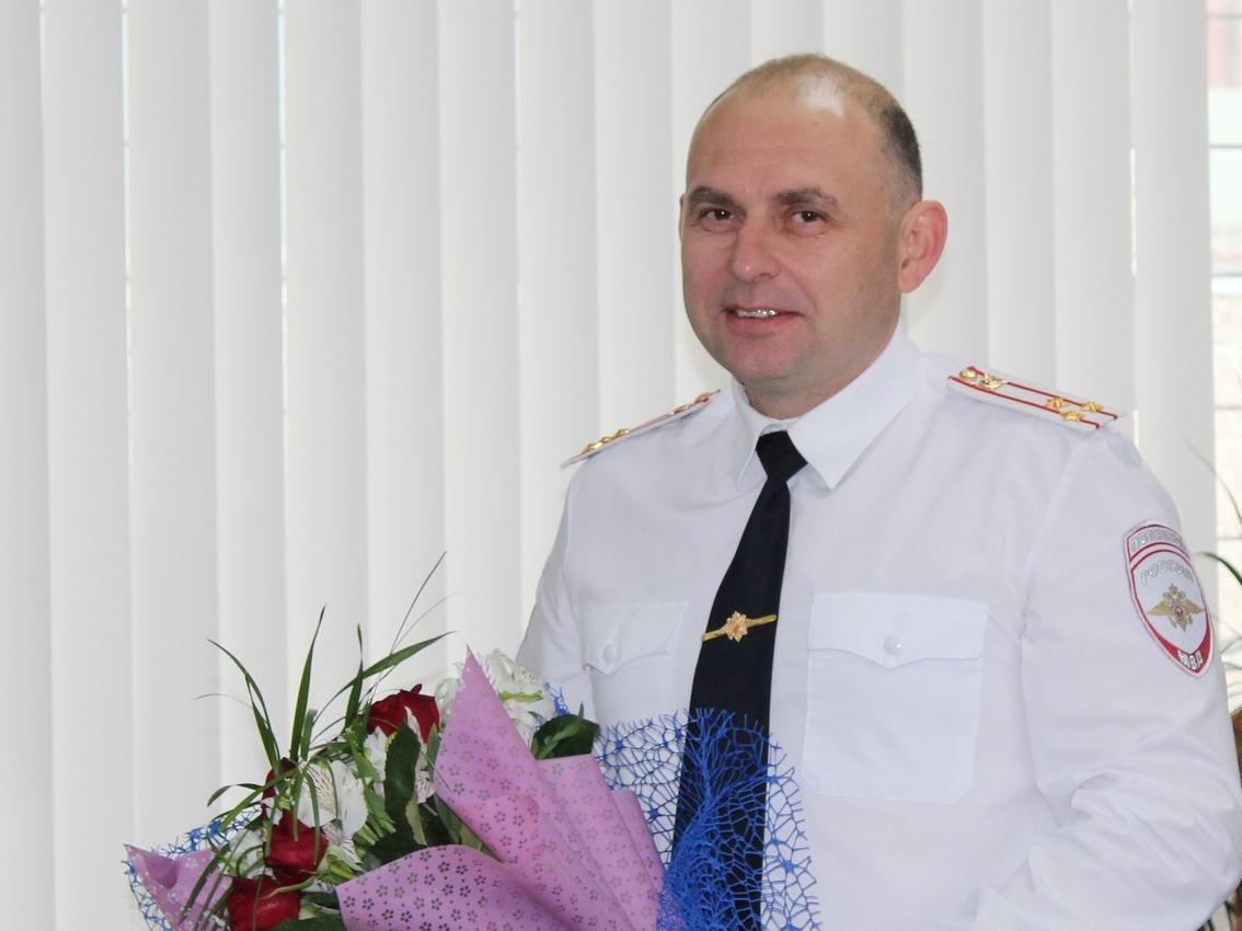 Глава полиции города и Каменского района Александр Кивелев отмечает день рождения