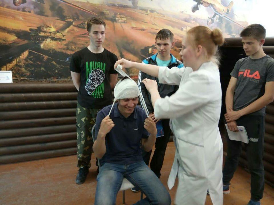 Медицинская подготовка старшеклассников