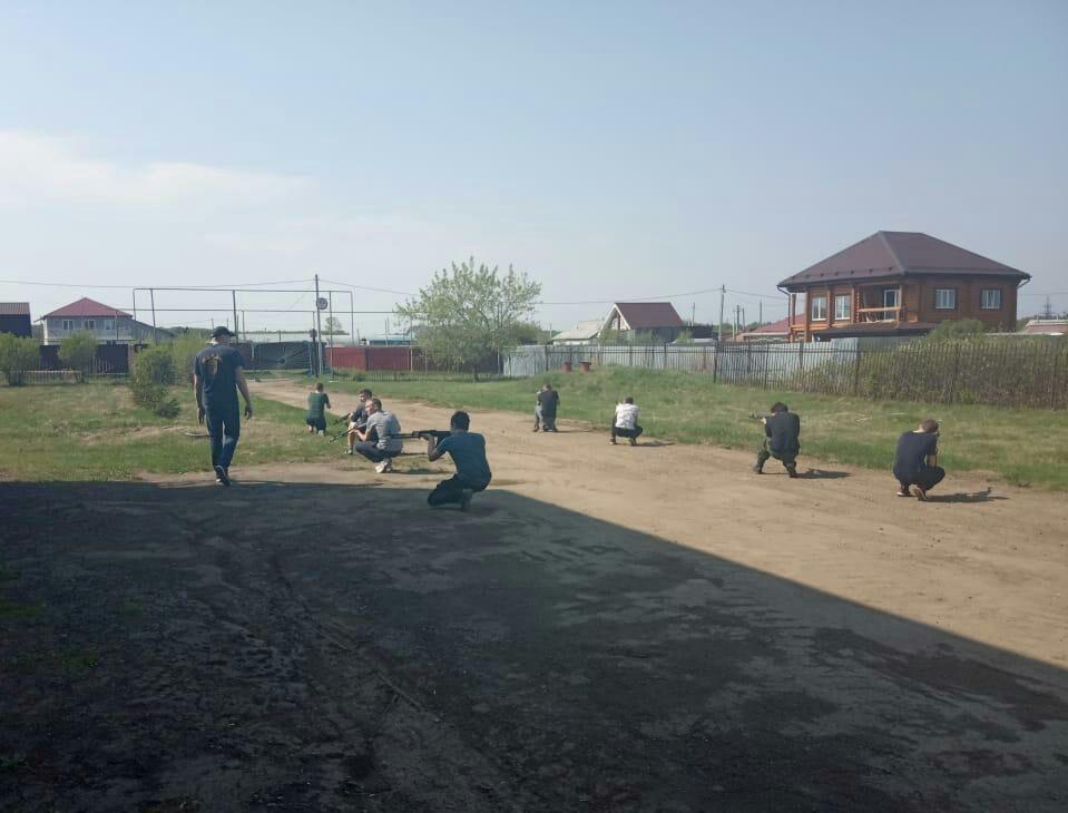 Военные сборы для старшеклассников прошли в Каменском районе