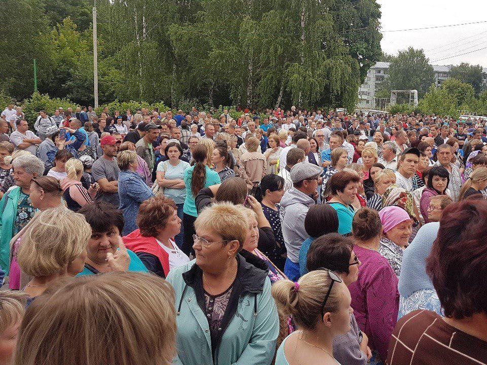 174 жителя села Чемодановка доставлены в полицию