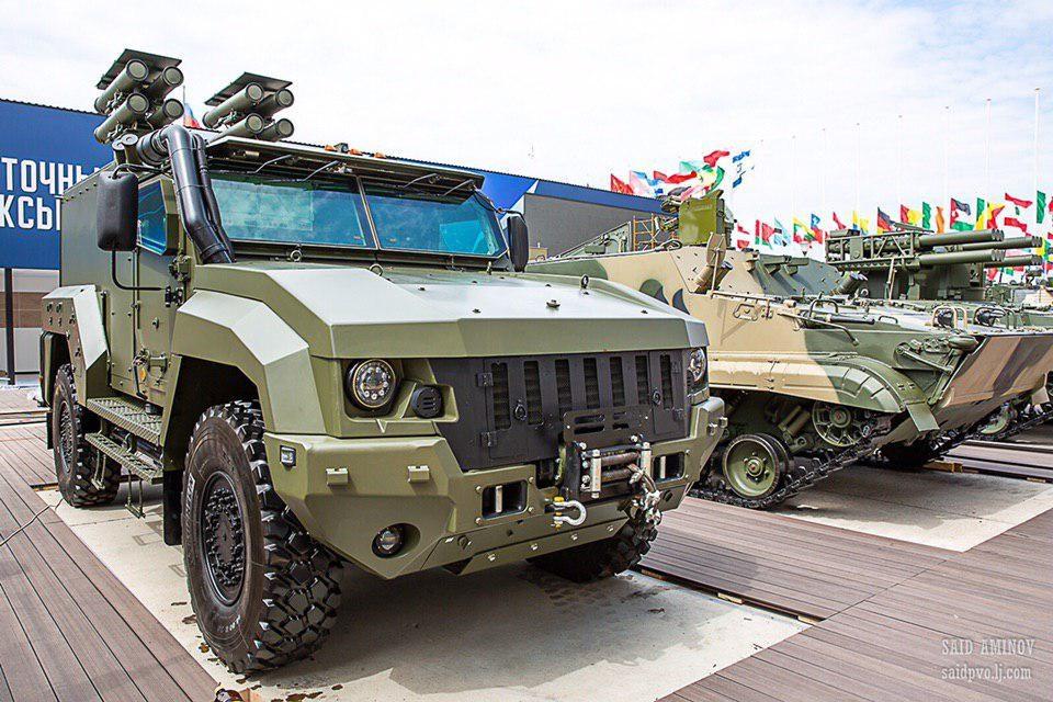 Новый Тигр - бронеавтомобиль
