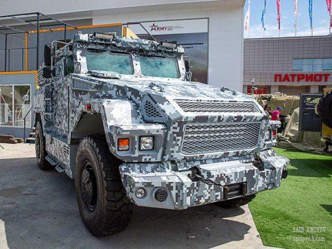 Бронеавтомобили для форума Армия-2019 (фото)