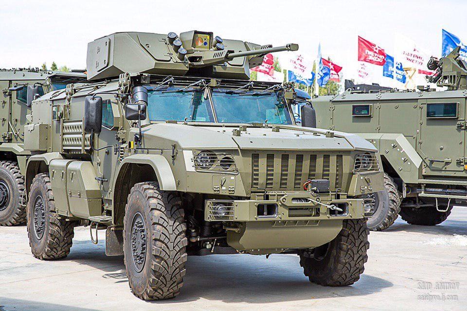 Бронеавтомобили для форума Армия-2019