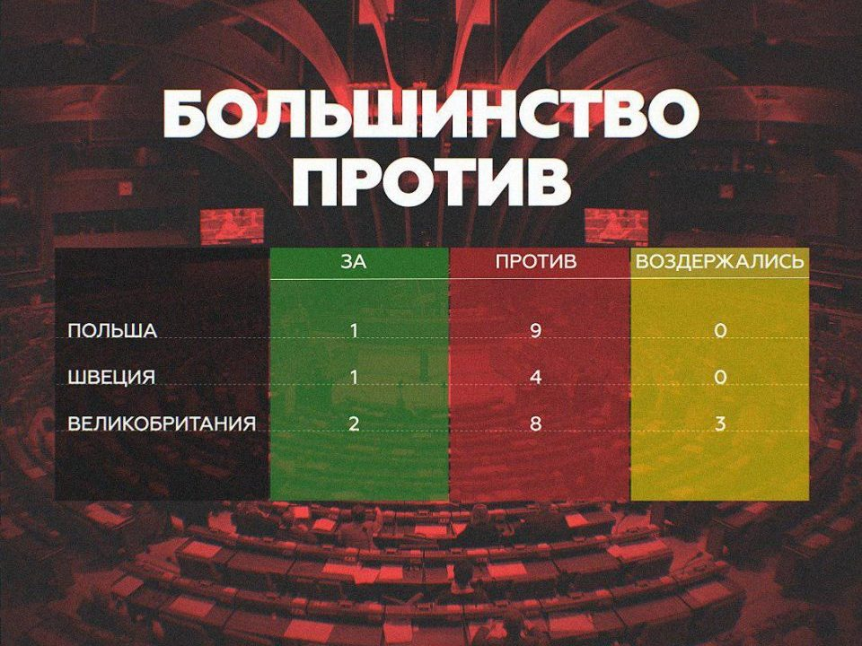 Большинство против возвращения России в ПАСЕ