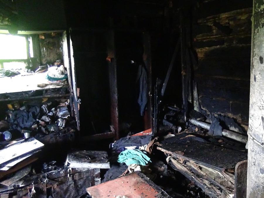 Появились новые подробности пожара в деревне Часовая Каменского района
