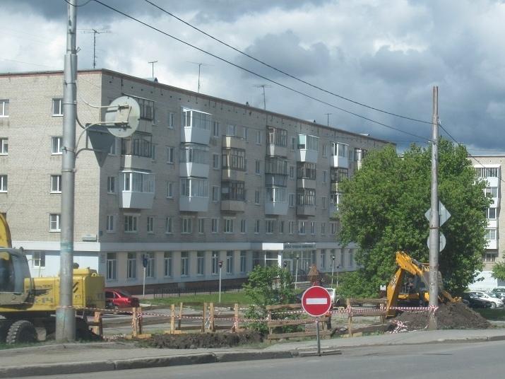 Пересечение Алюминиевой и Железнодорожной перекрыли для авто на 10 дней