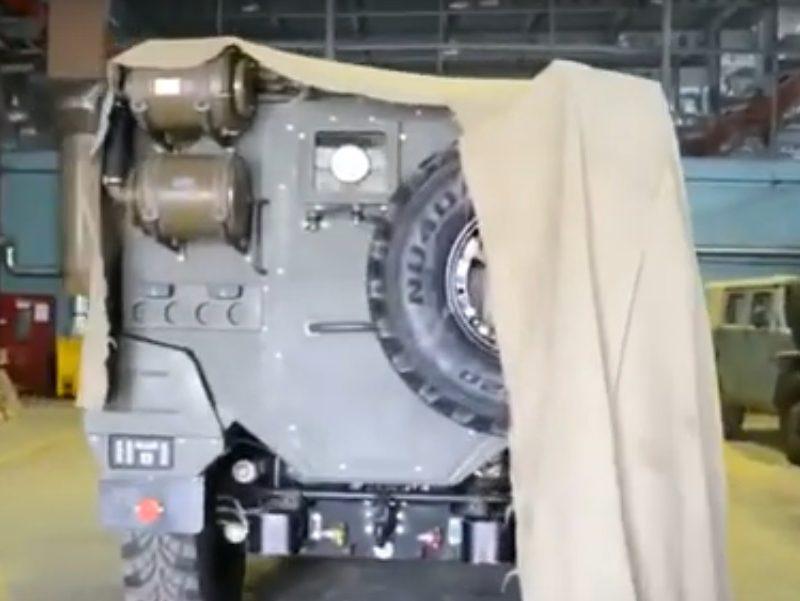 Бронеавтомобиль «Тигр Next» - первые кадры