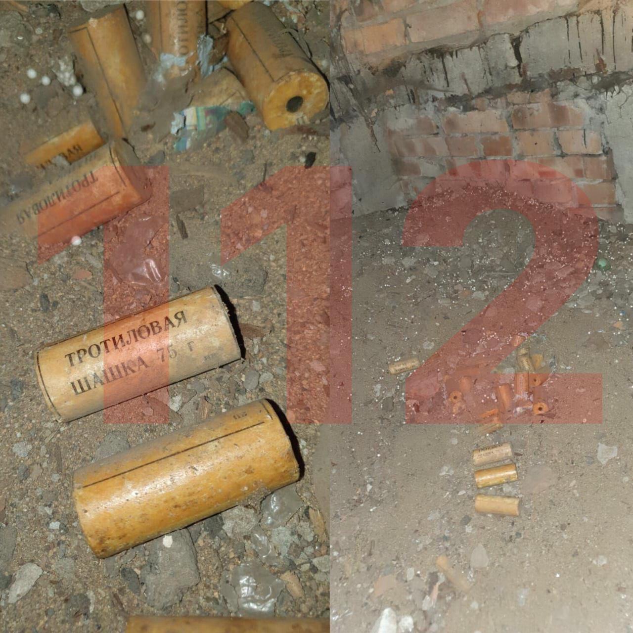 В подвале дома в Санкт-Петербурге нашли 9 килограммов тротила