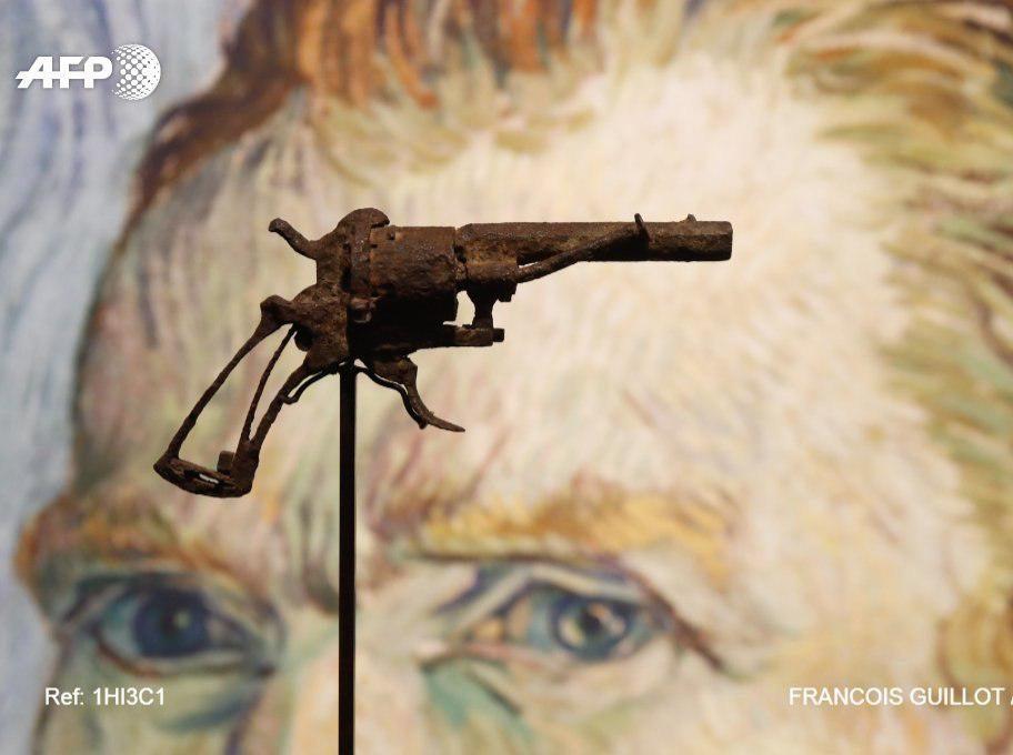 В Париже на аукцион выставят револьвер, из которого застрелился Ван Гог