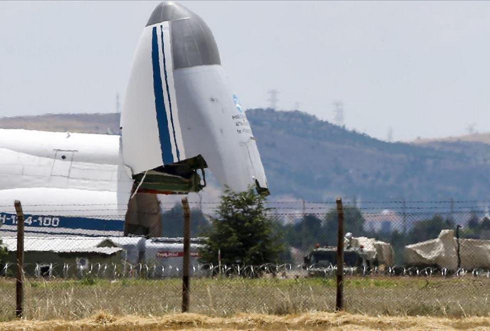 В Турцию прибыл седьмой борт с элементами ЗРК С-400