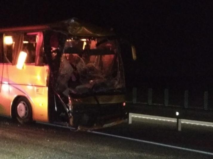 Семь человек пострадали в ДТП с автобусом из Перми в Геленджик