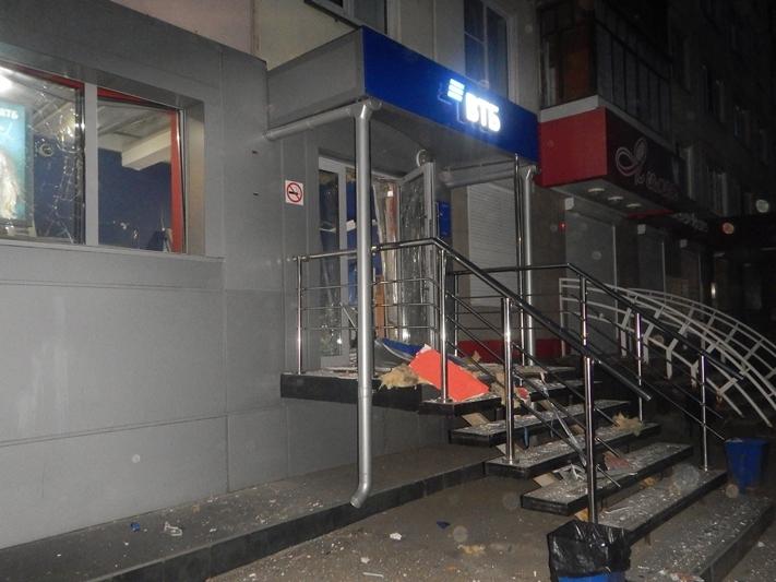 В Алтайском крае мужчина взорвал банкомат (видео)