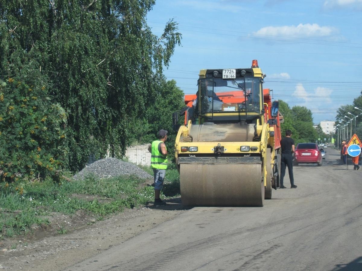 Ремонт дорог в Каменске-Уральском завершается